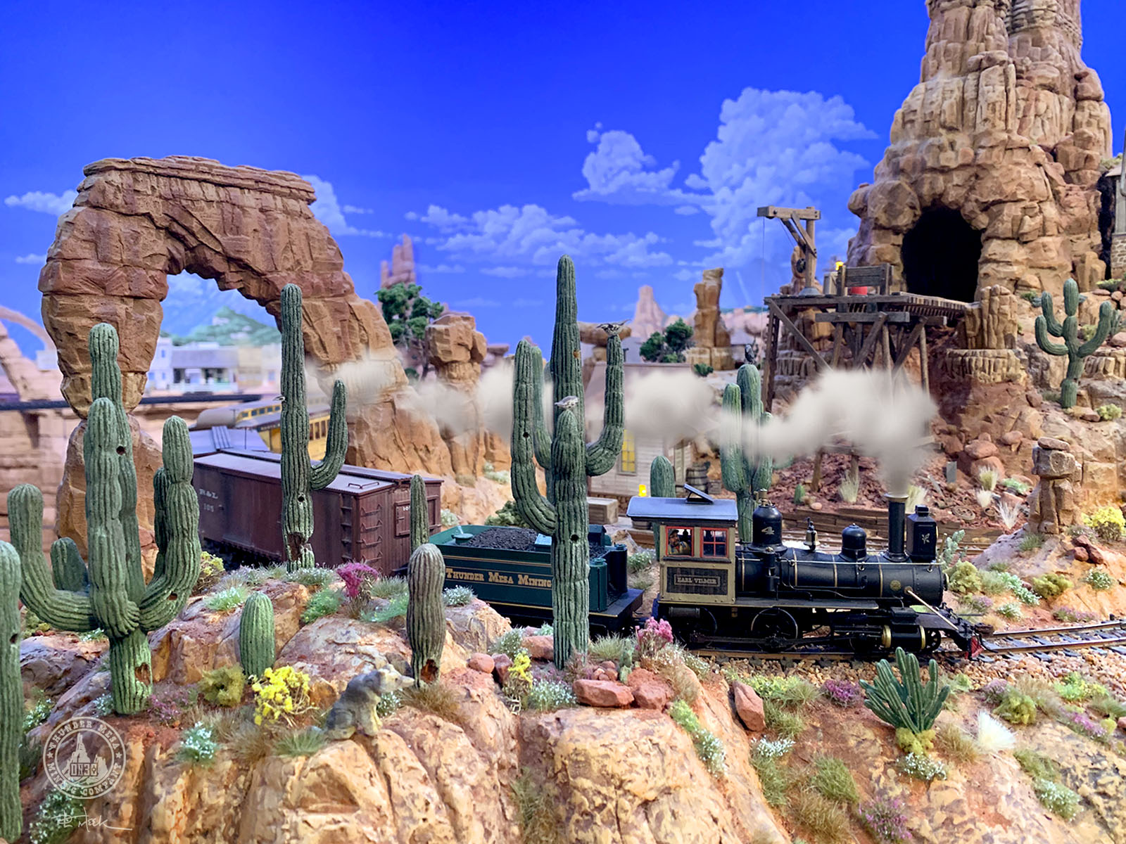 Thunder Mesa model railroad